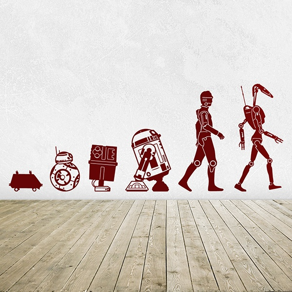 Wall Stickers: Evolution Droid