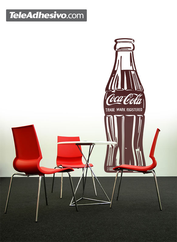 Wall Stickers: Coca Cola Warhol