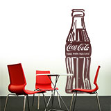 Wall Stickers: Coca Cola Warhol 3
