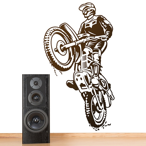 Wall Stickers: Motocross Trial