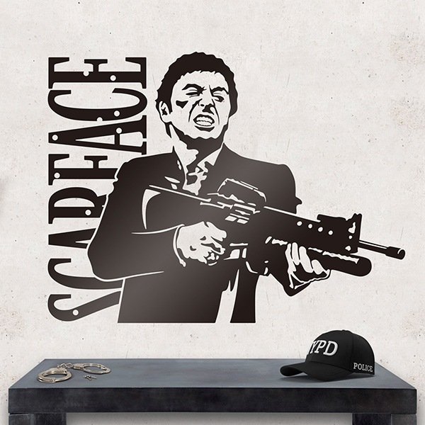 Wall Stickers: Scarface 0
