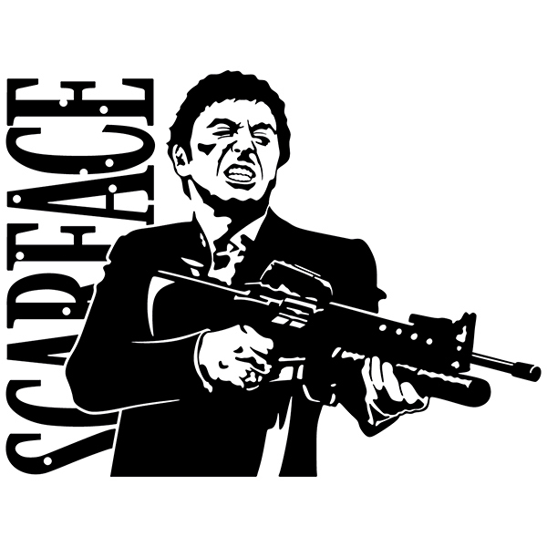 Wall Stickers: Scarface
