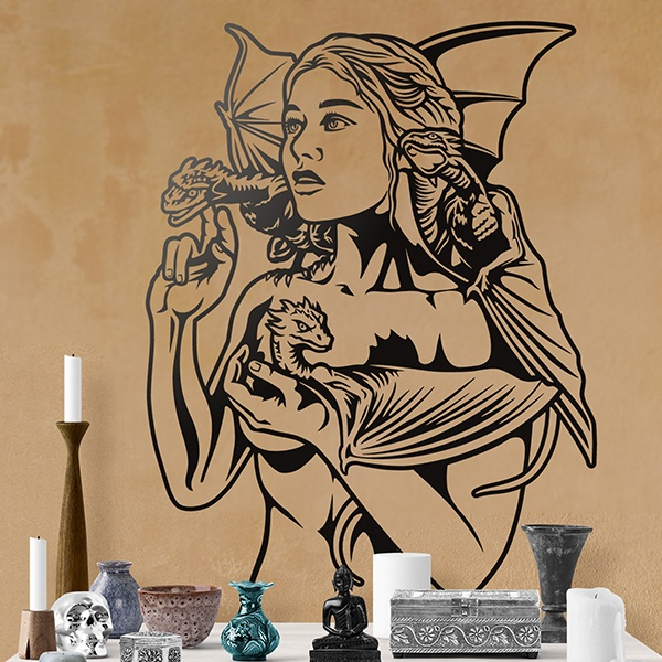 Wall Stickers: Daenerys Targaryen