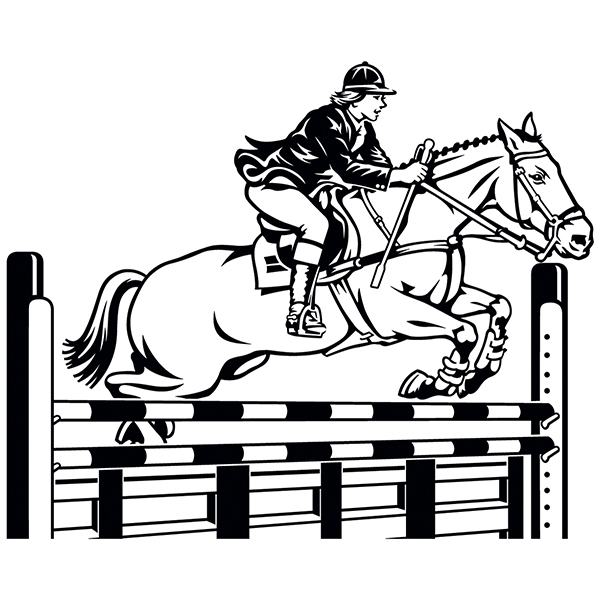 Wall Stickers: Equestrianism