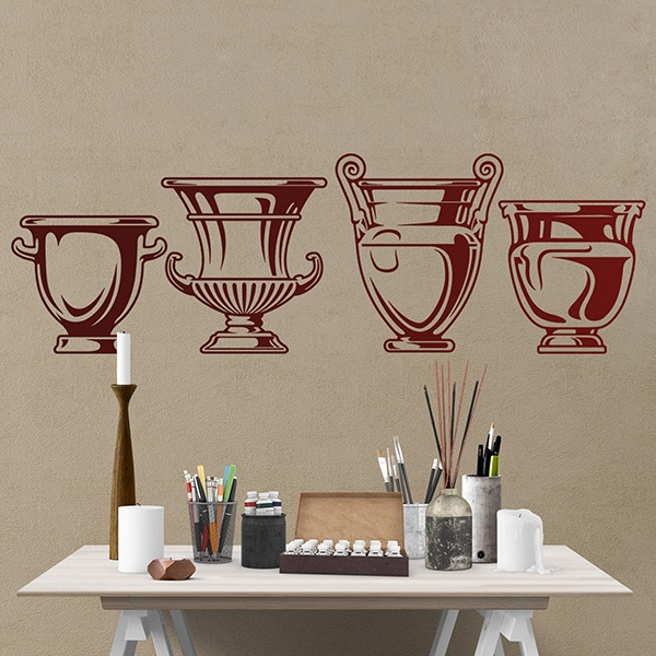 Wall Stickers: Greek vessels craters