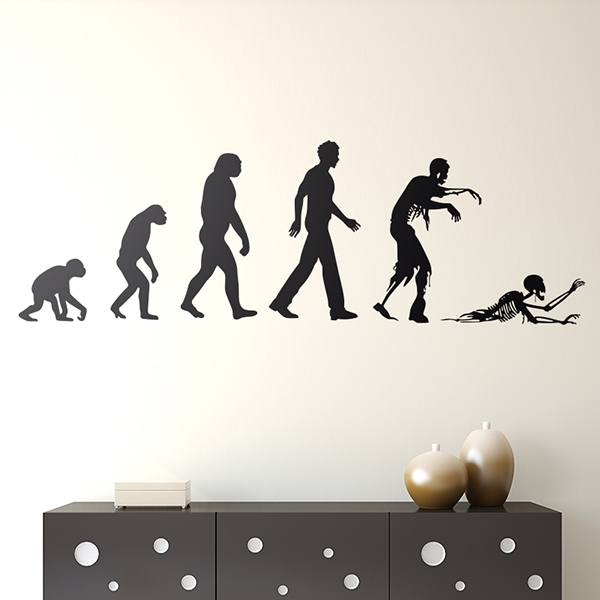 Wall Stickers: Evolution zombie