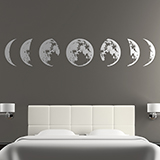 Wall Stickers: Lunar phase 2