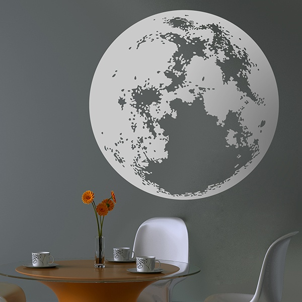 Wall Stickers: Full moon