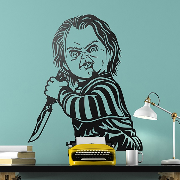 Wall Stickers: Chucky Child's Play