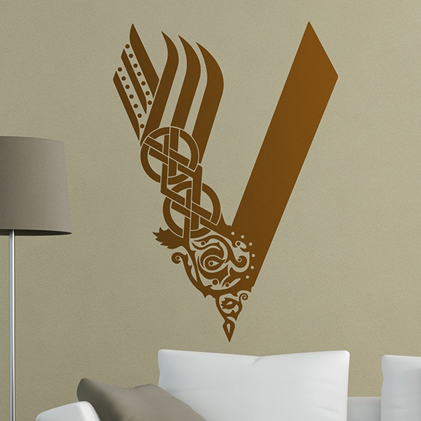 Wall Stickers: Vikings logo