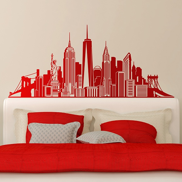 Wall Stickers: Skyline New York 2018