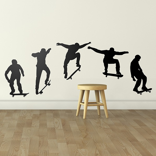 Wall Stickers: Evolution Skate Ollie