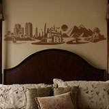 Wall Stickers: Skyline Cairo, Egypt 3