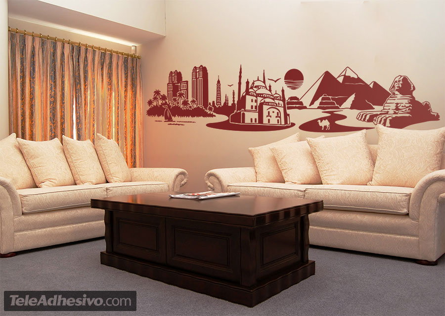 Wall Stickers: Skyline Cairo, Egypt
