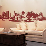 Wall Stickers: Skyline Cairo, Egypt 4