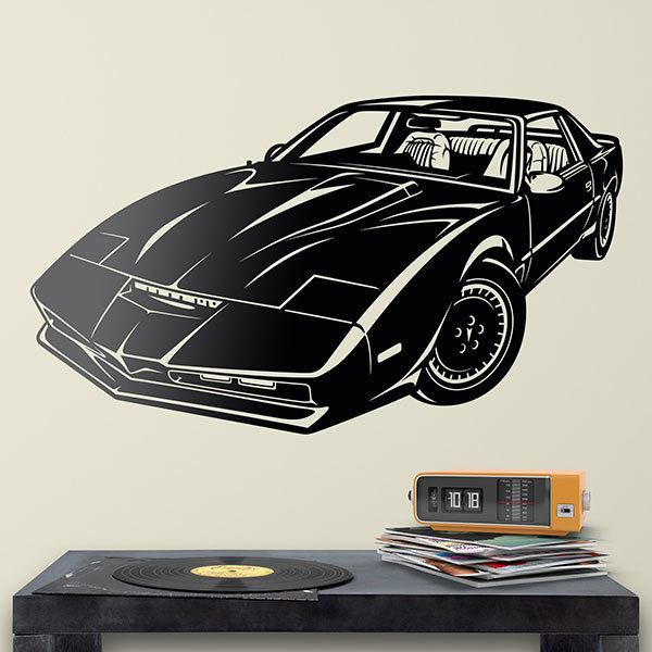 Wall Stickers: Knight Rider Kitt