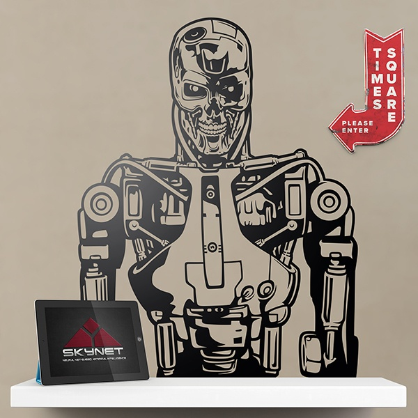 Wall Stickers: Terminator T-800