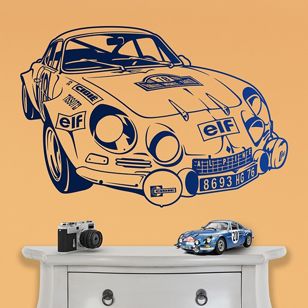 Wall Stickers: Renault Alpine A110