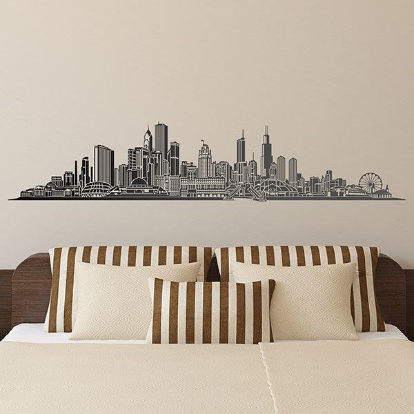 Wall Stickers: Chicago skyline