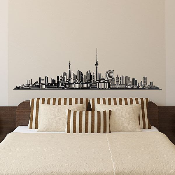 Wall Stickers: Berlin Skyline
