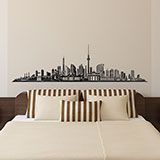 Wall Stickers: Berlin Skyline 3