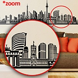 Wall Stickers: Berlin Skyline 4