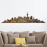 Wall Stickers: Las Vegas Skyline 2018 2