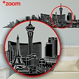 Wall Stickers: Las Vegas Skyline 2018 4
