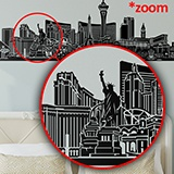 Wall Stickers: Las Vegas Skyline 2018 5