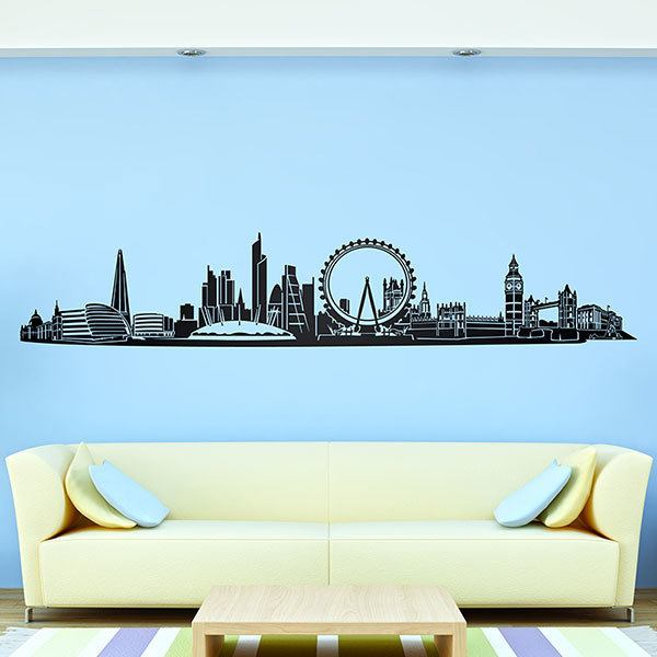Wall Stickers: London Skyline 2018