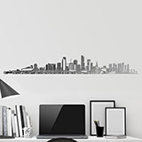 Wall Stickers: Miami Skyline 2018 2