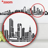 Wall Stickers: Miami Skyline 2018 4