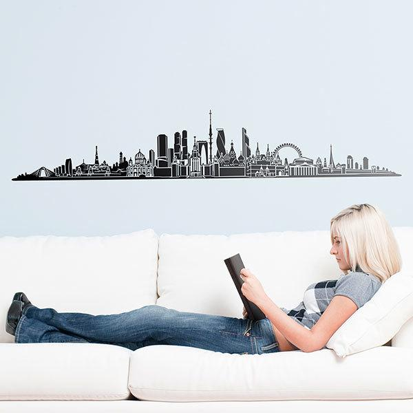Wall Stickers: Moscow Skyline