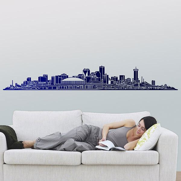 Wall Stickers: New Orleans Skyline