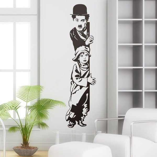 Wall Stickers: Chaplin The Kid 0