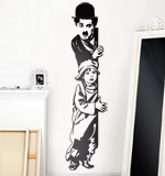 Wall Stickers: Chaplin The Kid 2