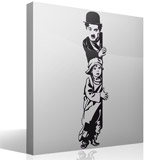 Wall Stickers: Chaplin The Kid 5