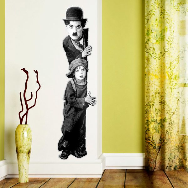 Wall Stickers: Charlot, The Kid