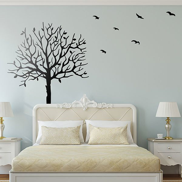 Wall Stickers: Walnut in autumn