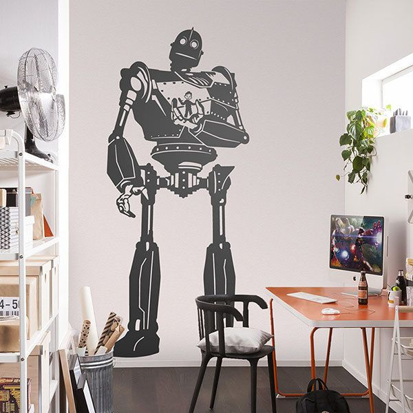 Wall Stickers: The Iron Giant