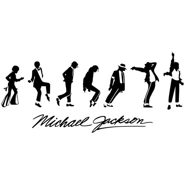 Wall Stickers: Michael Jackson Evolution