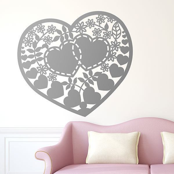 Wall Stickers: Heart of Love