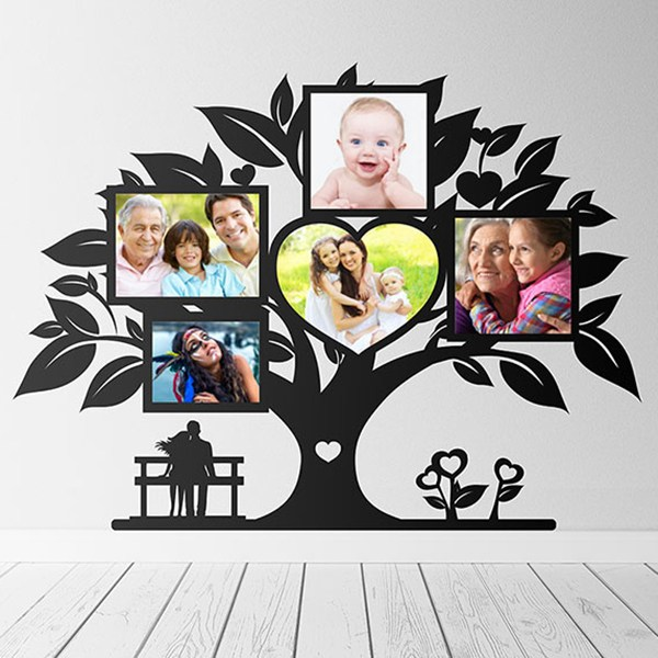 Wall Stickers: Genealogical Tree of Love