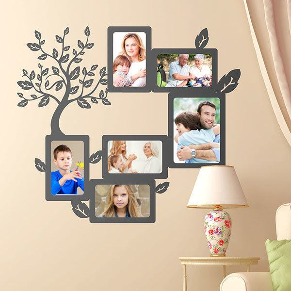 Wall Stickers: Genealogical Tree for Photos