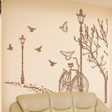 Wall Stickers: Autumn Bike 4