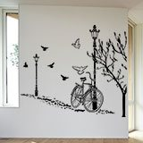 Wall Stickers: Autumn Bike 5