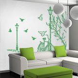 Wall Stickers: Autumn Bike 6