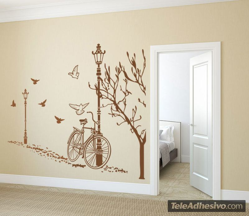 Wall Stickers: Autumn Bike