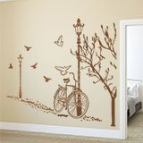 Wall Stickers: Autumn Bike 7