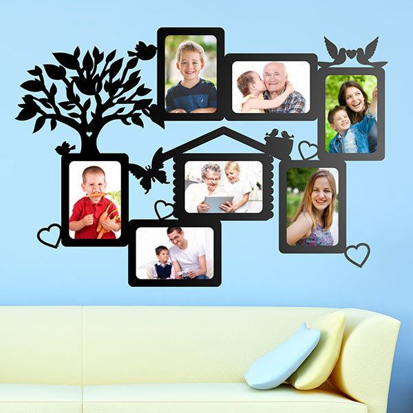 Wall Stickers: Genealogical Tree with Birds